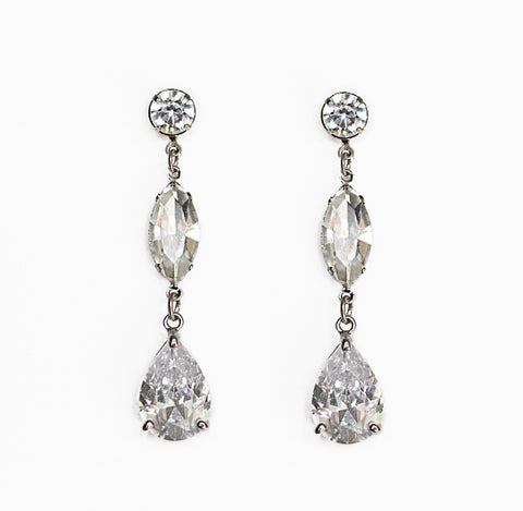 Mandy Bridal Earrings