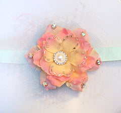 Mint & Rose Headband - Perle Jewellery & Makeup  - 3