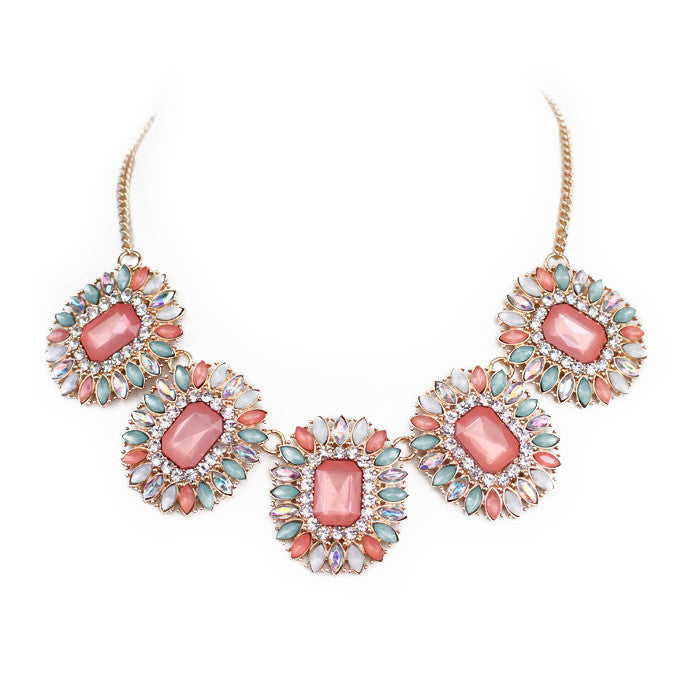 Royal Navette Necklace - Perle Jewellery & Makeup  - 1