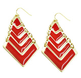 Red Kite Earrings - Perle Jewellery & Makeup  - 1