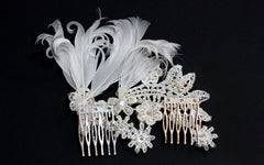 Scarlette Bridal Headpiece - Perle Jewellery & Makeup  - 3