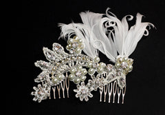 Scarlette Bridal Headpiece - Perle Jewellery & Makeup  - 2