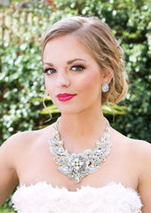Florence Lace Bridal Necklace - Perle Jewellery & Makeup  - 4
