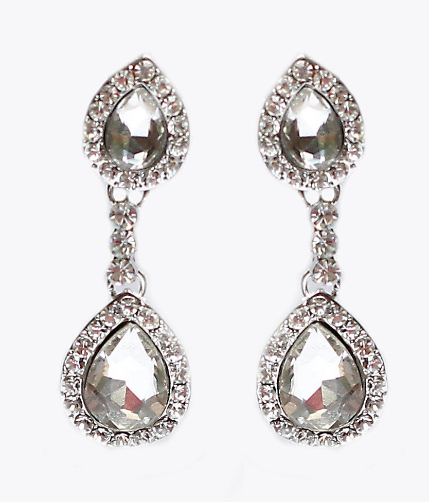 Eve Bridal Earrings - Perle Jewellery & Makeup