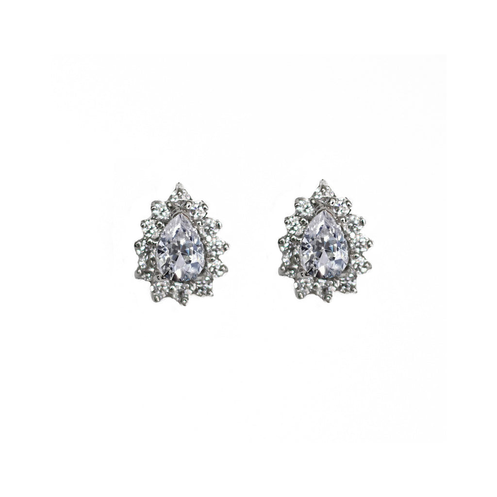 Lyndal Bridal Stud Earrings