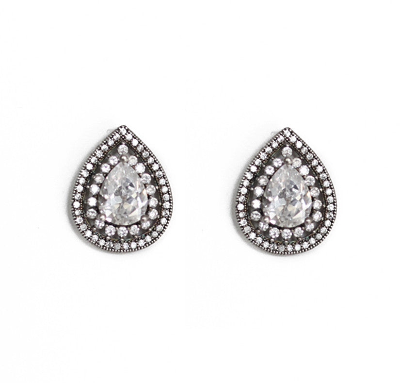 Jezabel Bridal Stud Earrings