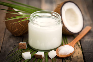 Homemade Coconut Oil (Cocos Nucifera)