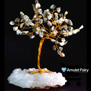 Agate Crystal Gem Tree