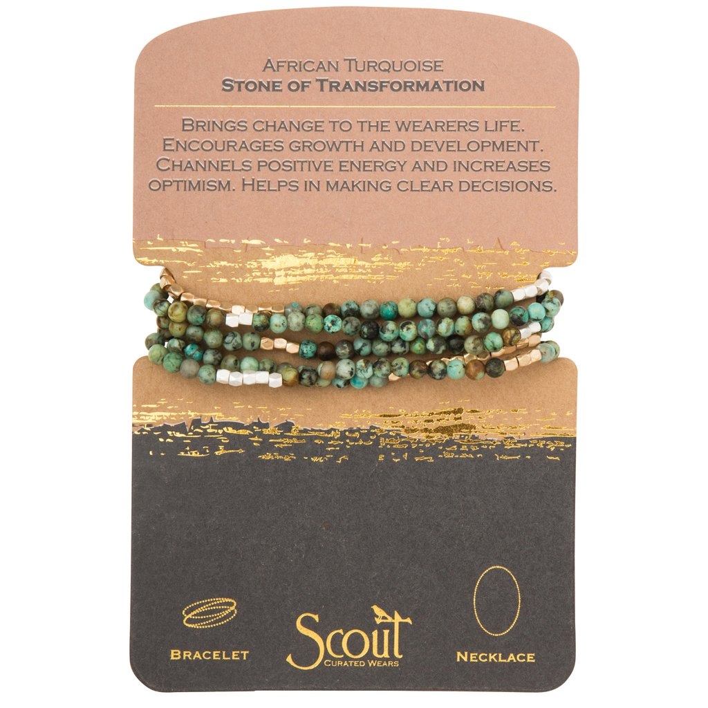 African Turquoise - Stone of Transformation