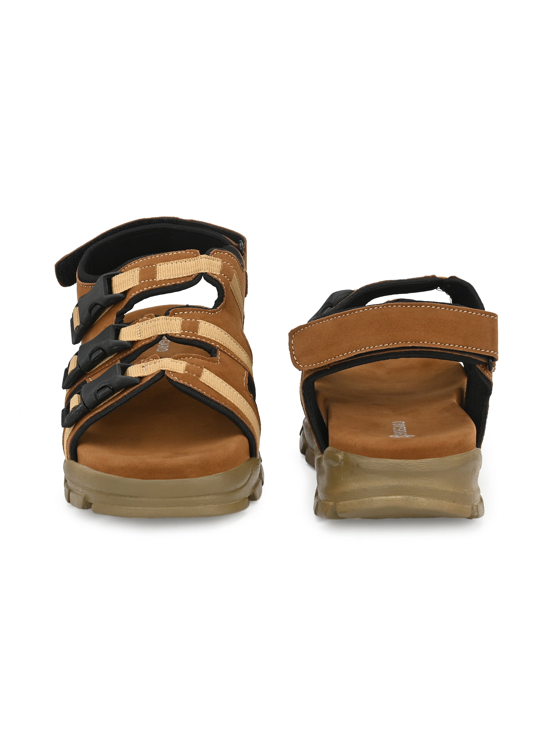 Swift Tan Comfort Sandal - shoegaro
