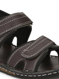 Sassy Brown Open Toe Sandal - shoegaro