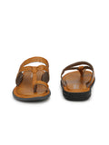 Vogue Tan Toe-Ring Slipper Slipper - shoegaro