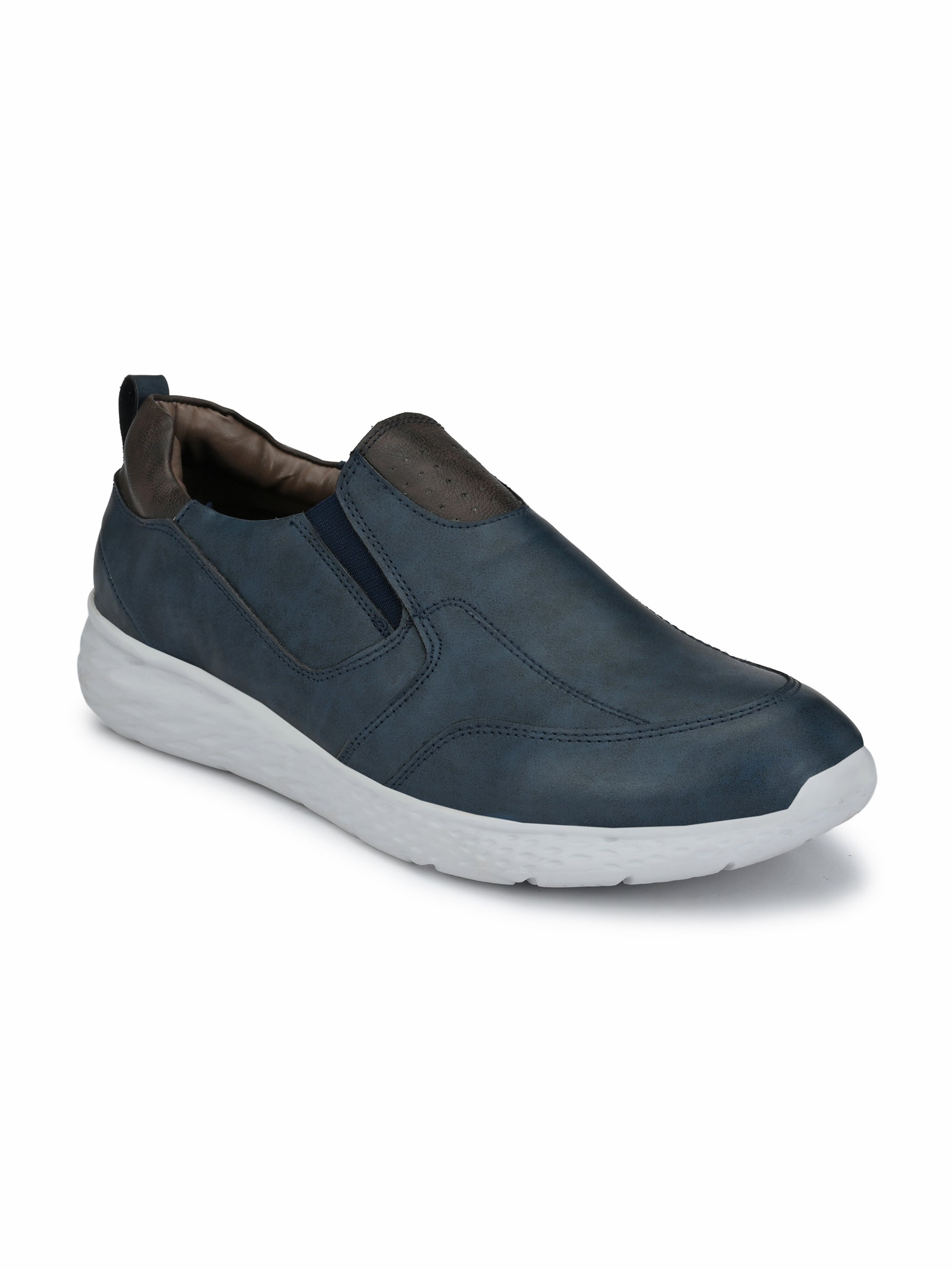 Bichrome Bold Slip on Sneakers - shoegaro