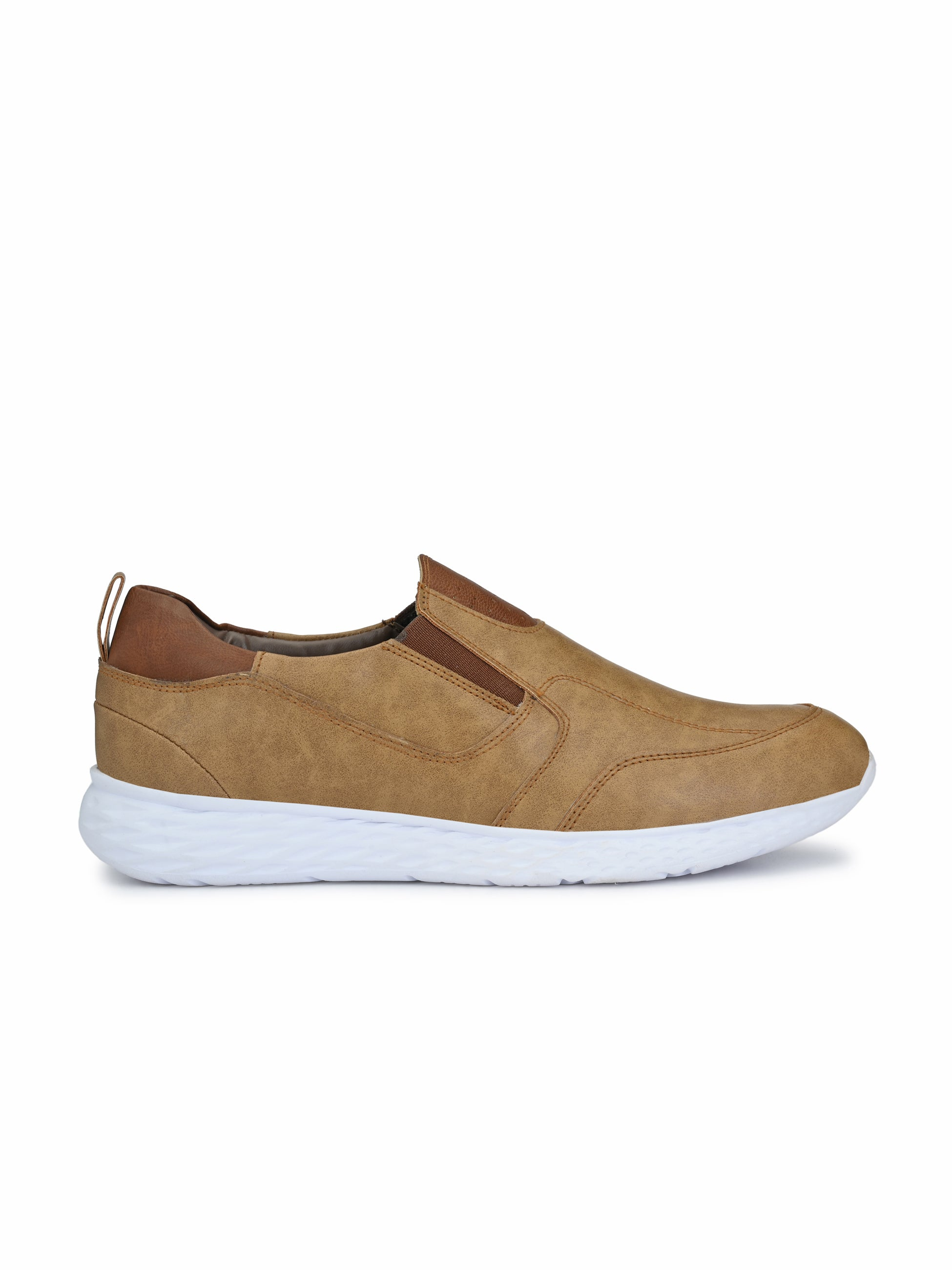 Bichrome Slip on Sneakers - shoegaro