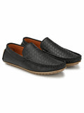 Spunky Black Comfort Loafers - shoegaro