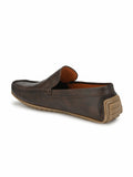 Sassy Brown Comfort Loafers - shoegaro