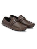Vogue Brown Comfort Loafer - shoegaro