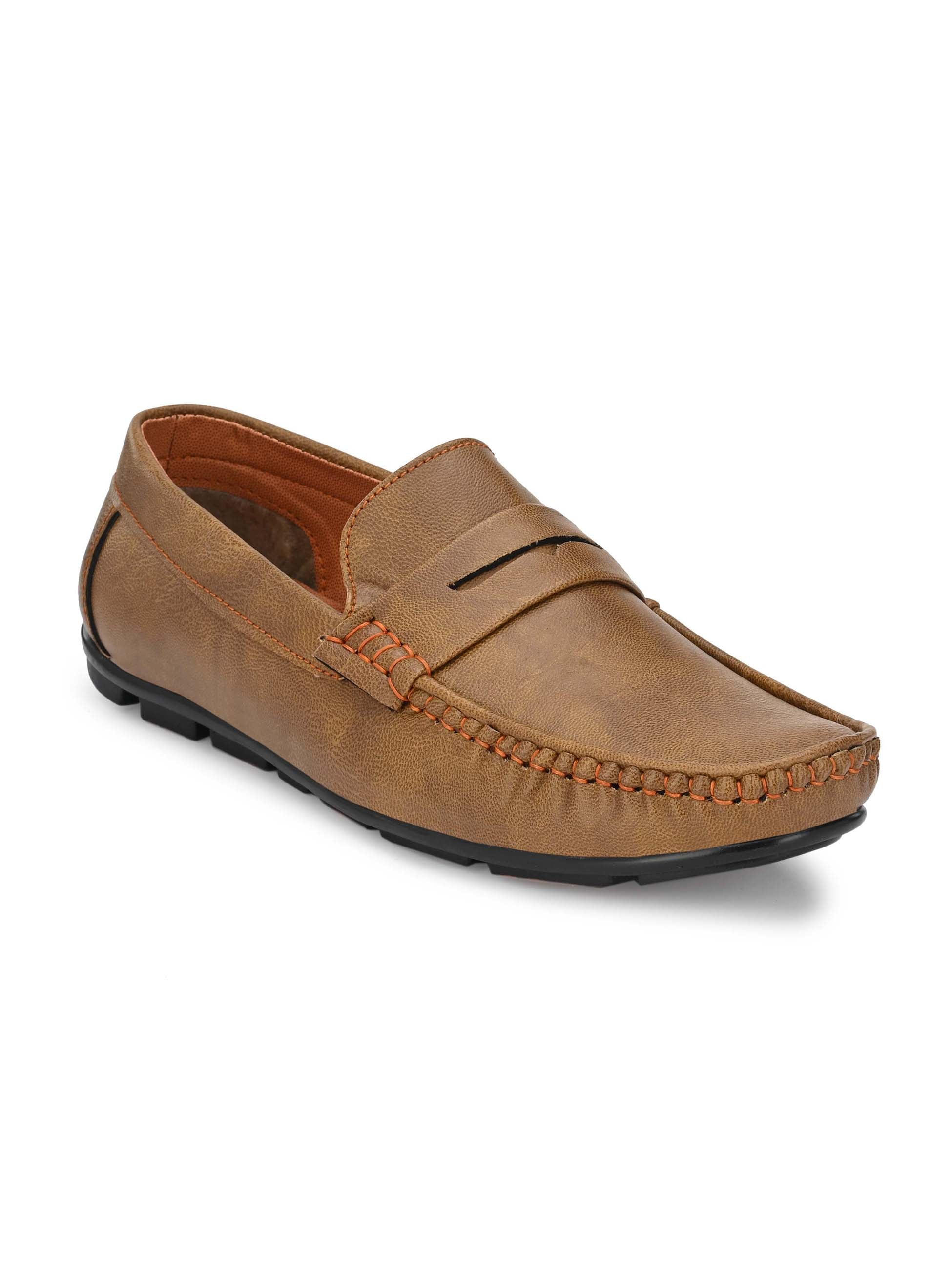 Calm Camel Comfort Loafers - shoegaro