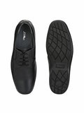 Black Leather Savage Shoes - shoegaro