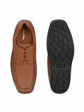 Shoegaro Tan Genuine Leather Shoes - shoegaro