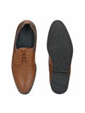 Brown Leather Doughty Shoes - shoegaro