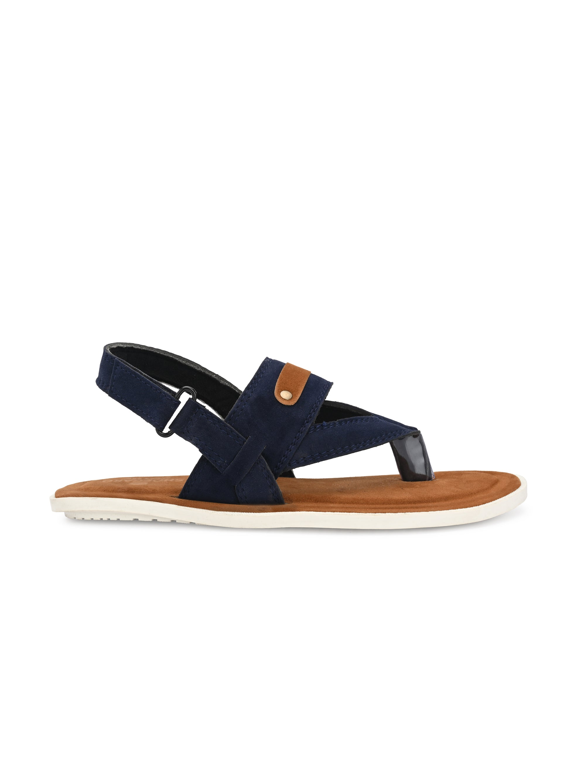 Blue Thong Strap Sandal - shoegaro