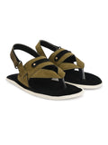 Green Thong Strap Sandal - shoegaro