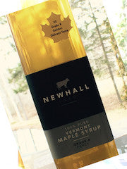 Newhall Farm Vermont Maple Syrup, 500ml. bottle