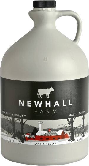 Newhall Farm Pure Vermont Maple Syrup, One Gallon