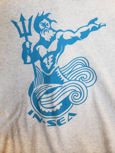 IN-SEA King Neptune V Neck T-Shirt