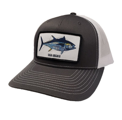 Spear America Trucker Hat  Patch Bluefin Tuna