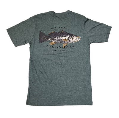 Spear America Calico Bass T-Shirt