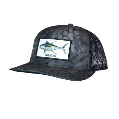 Spear America Trucker Hat  Patch Yellowfin Tuna