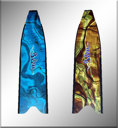 BleuTec Fin Blade Protection Film - Blue Camo