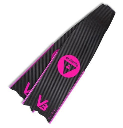 Alchemy V3 carbon fins (footpockets not included)