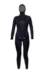 PoloSub Lined Open Cell Black Womens Wetsuit - 7.0mm