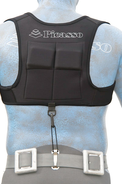 Picasso Weight Vest Black Neoprene