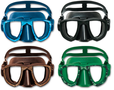Omer Aries Diving Mask - Mimetic Green