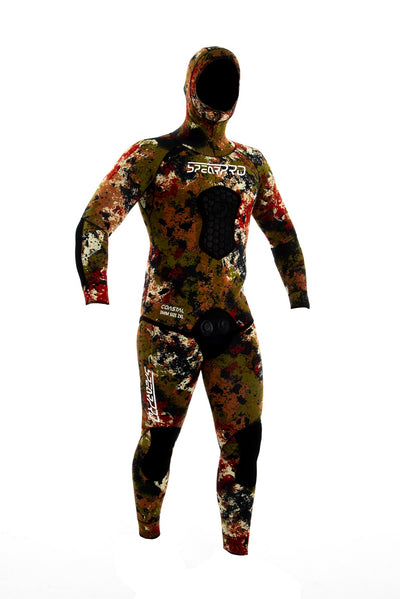 SpearPro Coastal Camo Wetsuit - 5mm