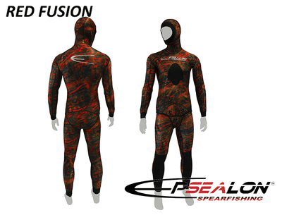 Epsealon Red Fusion Wetsuit - 1.5mm