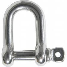SpearPro 316 marine Stainless D Shackle 5/32""