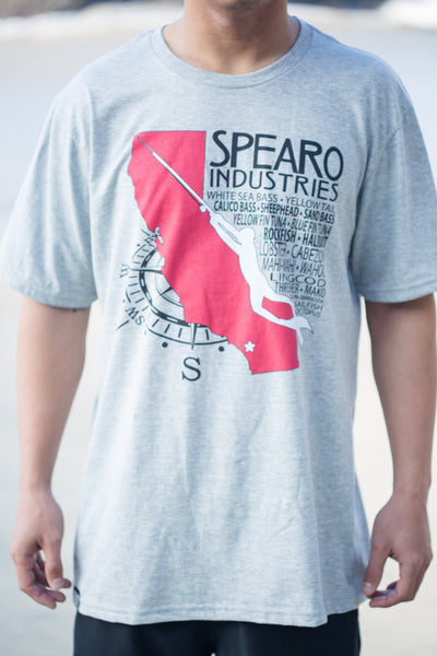 Spearo Industries Cali Game Fish T-Shirt