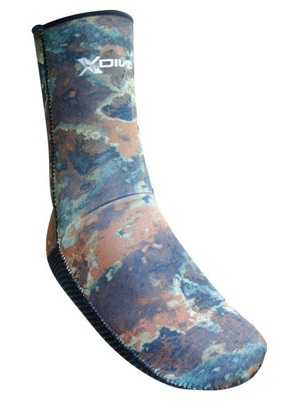XDive 3mm Camo Socks