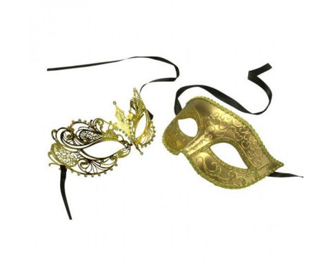 Pick The Right His And Her Masquerade Masks For a Mardi Gras Ball