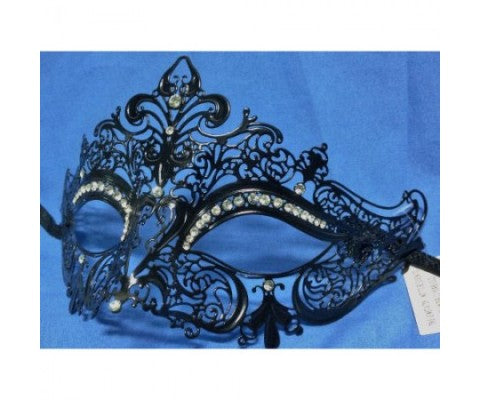 Choose Classic Masquerade Masks For A Halloween Themed Bride And Wedding Party