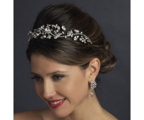 Bridal Hair Accessories That Fit Perfectly with New Bridal Trends For 2017
