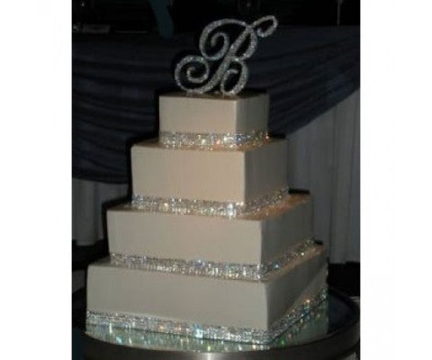 Ideas About Bling Wedding Cake Decorations To Spruce Up The Celebrations