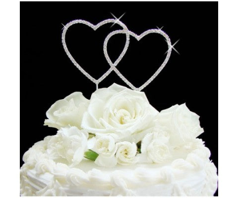 Make Your Wedding Sparkle with Crystal Cake Topper