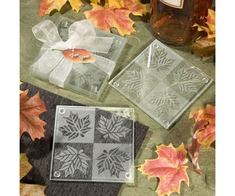 The Falling Leaves Wedding Favors Are A Stunning Way To Greet Your Guests