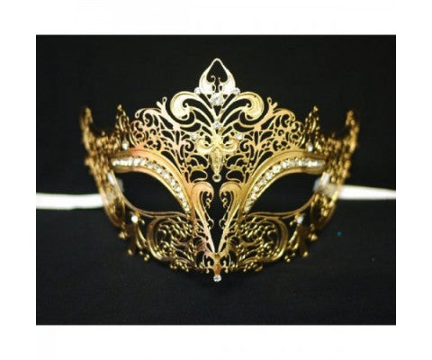 Gold Masquerade Masks Are Popular Choice for Masquerade Party